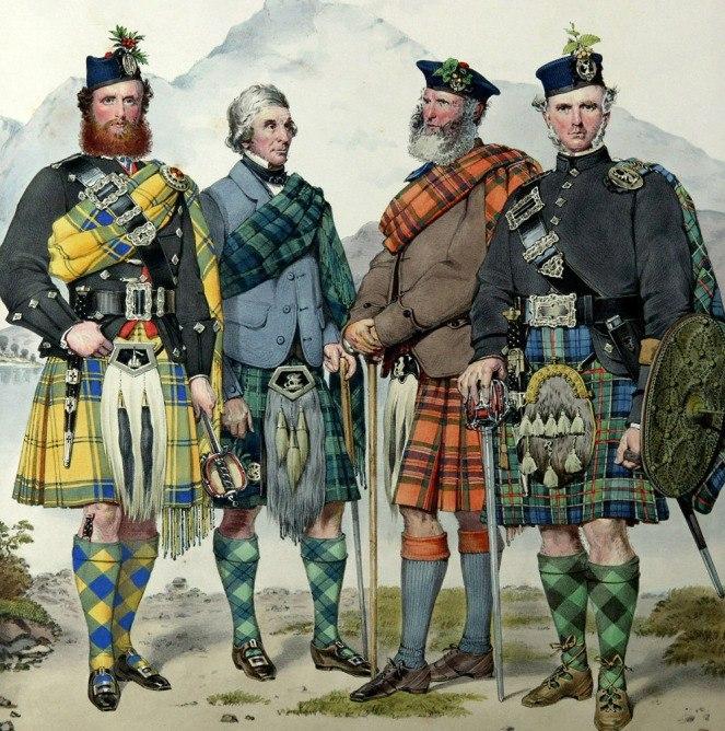 Шотландцы на службе России